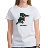 Green Kingfisher Women's T-Shirt