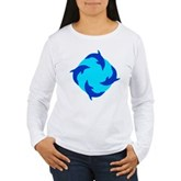 Dolphin Ring Women's Long Sleeve T-Shirt