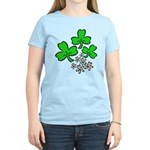Irish Shamrocks Women's Light T-Shirt