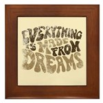 Dreams Framed Tile