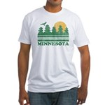 Minnesota Fitted T-Shirt