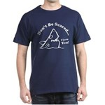 Don't Be Scared Shark Dark T-Shirt