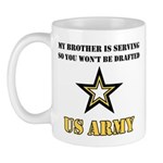 Brother Serving Draft Army Mug