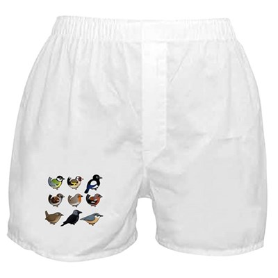 9 Backyard Birds (EU) Boxer Shorts