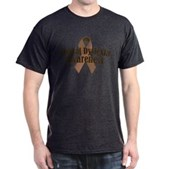 Rectal Dyslexia Awareness Dark T-Shirt