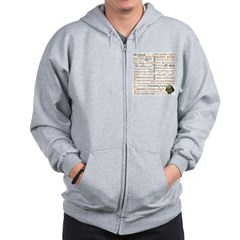 Shakespeare Insults T-shirts & Gifts Zip Hoodie
