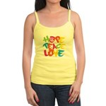 Hope Peace Love Jr. Spaghetti Tank