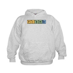 Fisher made of Elements Kids Hoodie