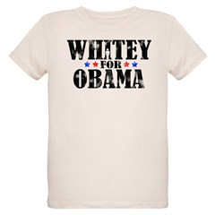 Whitey For Obama Organic Kids T-Shirt