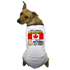 Canada Severed Foot Dog T-Shirt