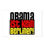 Obama Ist Kein Berliner! Postcards (Package of 8)