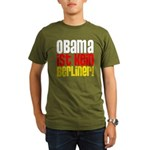 Obama Ist Kein Berliner! Organic Men's T-Shirt (dark)