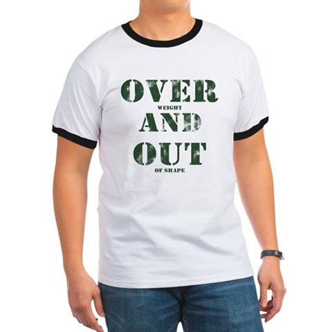 Over & Out Ringer T