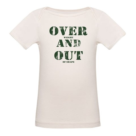Over & Out Organic Baby T-Shirt