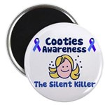 Cooties Awareness Magnet