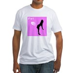 iFart Funny Spoof Fitted T-Shirt