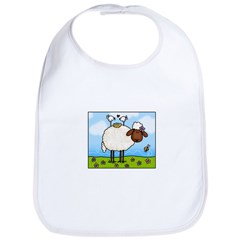 Spring Sheep Bib