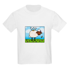 Spring Sheep Kids Light T-Shirt