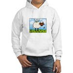 Spring Sheep Hooded Sweatshirt