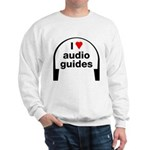 I Love Audio Guides Sweatshirt