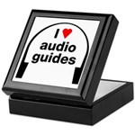I Love Audio Guides Keepsake Box