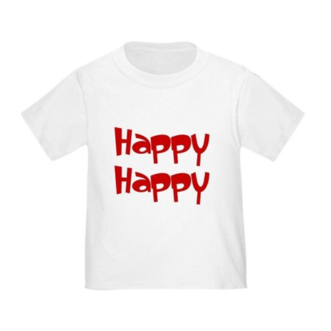 Happy Happy Joy Joy Toddler T-Shirt