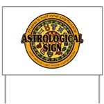 Astrological Sign Yard Sign