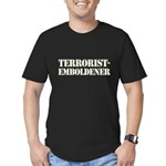 Terrorist Emboldener Men's Fitted T-Shirt (dark)