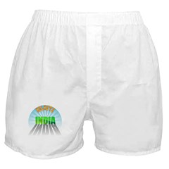 Kolkata India Boxer Shorts
