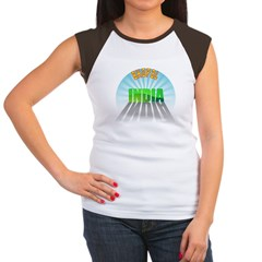Bhopal India Women's Cap Sleeve T-Shirt