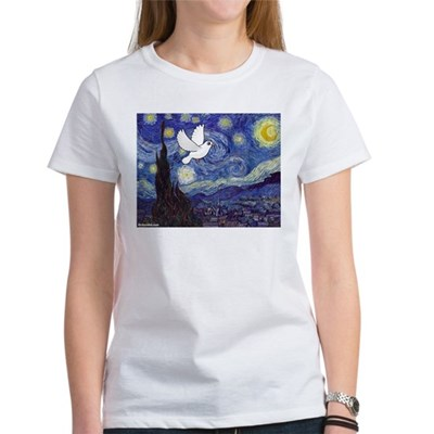 Starry Dove Women's T-Shirt