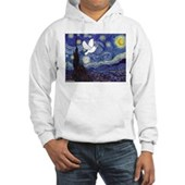Starry Dove Hooded Sweatshirt