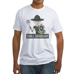 Grill Sergeant Fitted T-Shirt