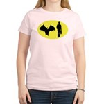 Bat Man Women's Light T-Shirt