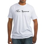 Mrs. Sparrow Fitted T-Shirt