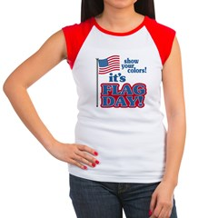 Flag Day Women's Cap Sleeve T-Shirt