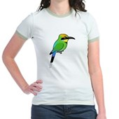 Rainbow Bee-eater Jr. Ringer T-Shirt