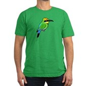 Rainbow Bee-eater Men's Fitted T-Shirt (dark)