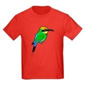 Rainbow Bee-eater Kids Dark T-Shirt