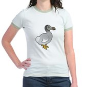 Birdorable Dodo Jr. Ringer T-Shirt