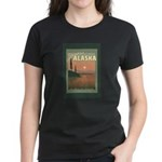 Visit Beautiful Alaska Women's Dark T-Shirt