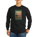 Visit Beautiful Alaska Long Sleeve Dark T-Shirt