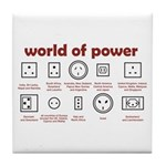 World of Power Tile Coaster