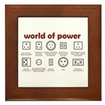 World of Power Framed Tile