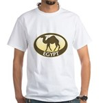 Egyptian Camel White T-Shirt