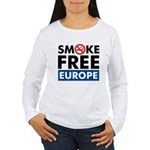 Smoke Free Europe Women's Long Sleeve T-Shirt