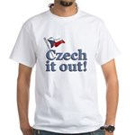 Czech It Out White T-Shirt