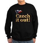 Czech It Out Sweatshirt (dark)
