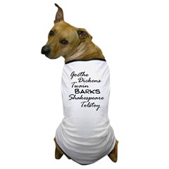Legendary Authors Dog T-Shirt