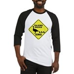 Talking Ducks Crossing Baseball Jersey